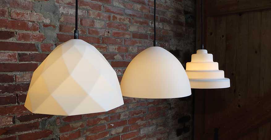Alle TOVVEL lampen op een rij afgebeeld